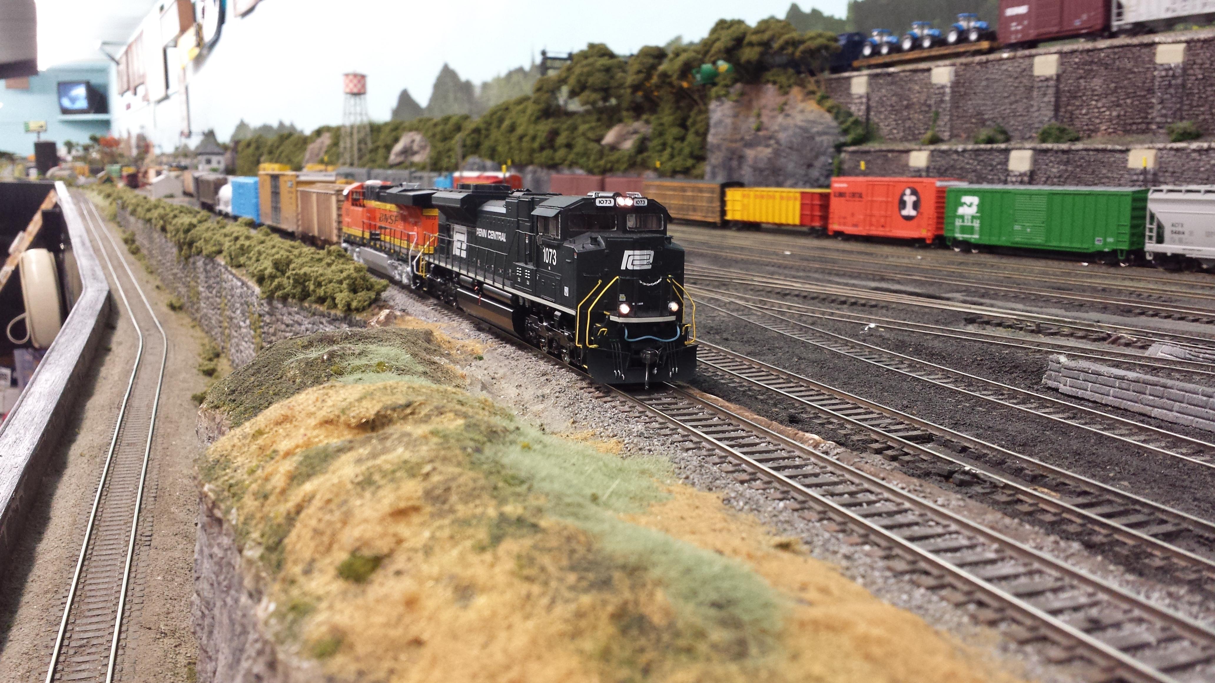 Wheatfield Yard Train